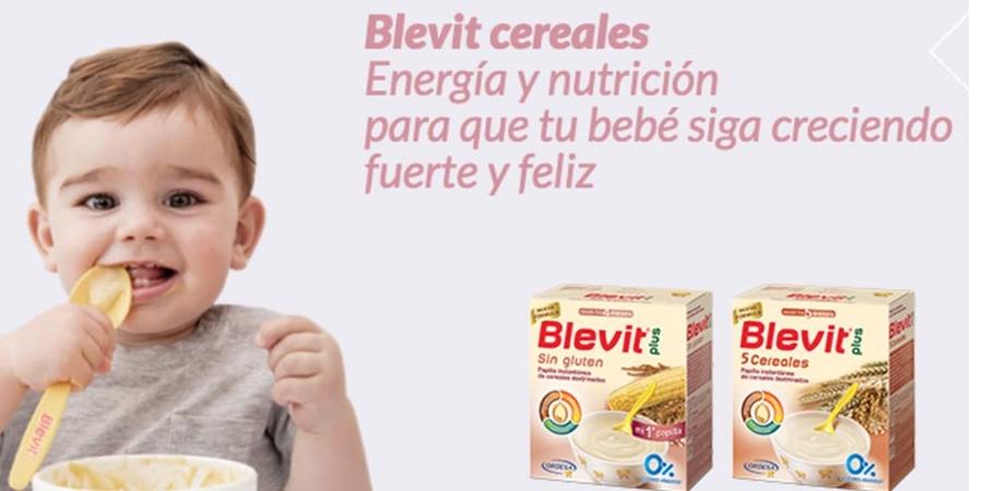 Comprar cereales sin gluten bebé de la marca Blevit