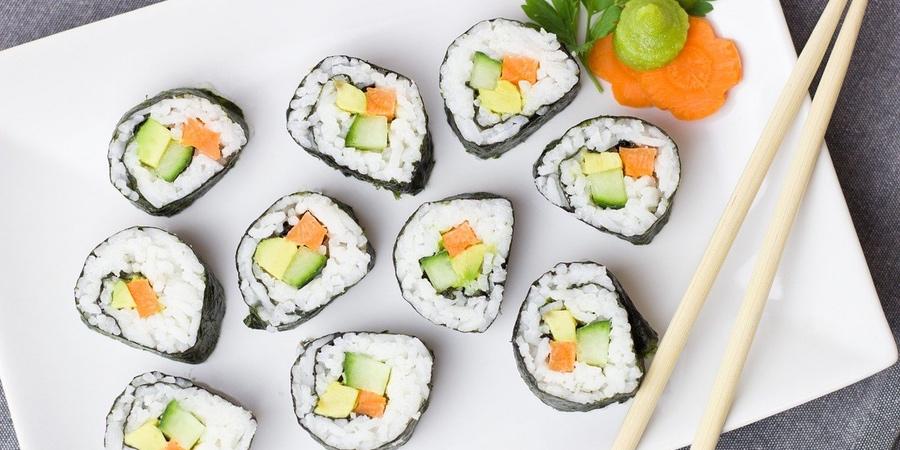 recetas de sushi con algas nori del Aldi